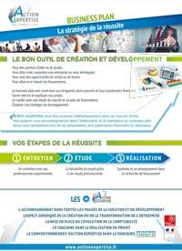 Fiche Expertise : Business Plan - Cabinet Comptable Action Expertise