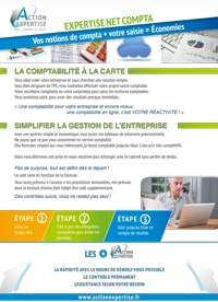 Fiche Expertise : Expertise Net Comptable - Cabinet Comptable Action Expertise