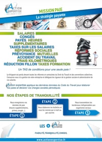 Fiche Expertise : Mission Paie - Cabinet Comptable Action Expertise